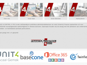 Nieuwe website Finance and Control 4 You
